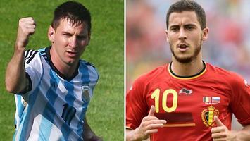 ARGENTINA vs. BELGIUM 2014 World Cup Quarterfinal
