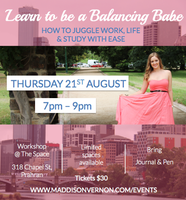 Learn to be a Balancing Babe