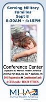 Mental Health Academy: Serving Military Families