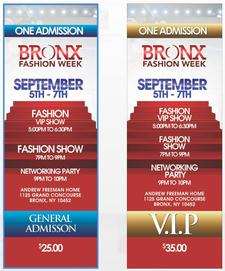 Bronx Fashion Week  logo