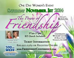 The Power of Friendship Women's Event-Boston