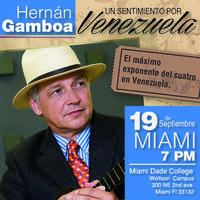 """Hernan Gamboa """"Un Sentimiento por Venezuela"""""""