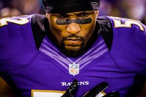 Ray Lewis PRIVATE SIGNING