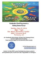 1st Annual Handmade In South Bay Sizzling Summer Bazaar