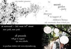 City Readers 2014 Fundraiser - The Secret Garden......