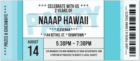 NAAAP Hawaii 2nd Anniversary Celebration