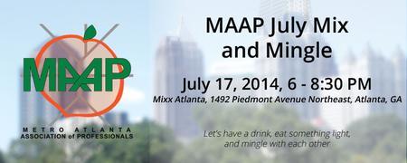 MAAP July Mix and Mingle