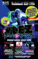 #LEZ Pride Blackout Party w/ Frenchie Davis!