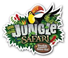 "2014 Vacation Bible School ""Jungle Safari"""