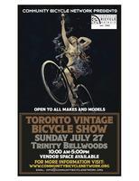 Toronto Vintage Bicycle Show