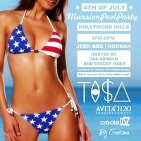 TI$A JULY 4TH MANSION POOL PARTY