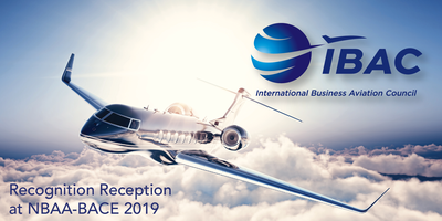 IBAC Recognition Reception at NBAA-BACE 2019