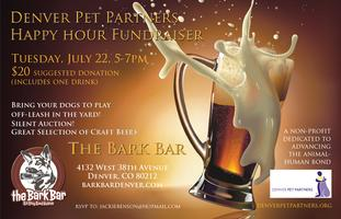 Denver Pet Partners Happy Hour Fundraiser