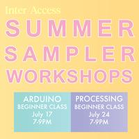 Summer Sampler Workshop: Arduino Quick Class
