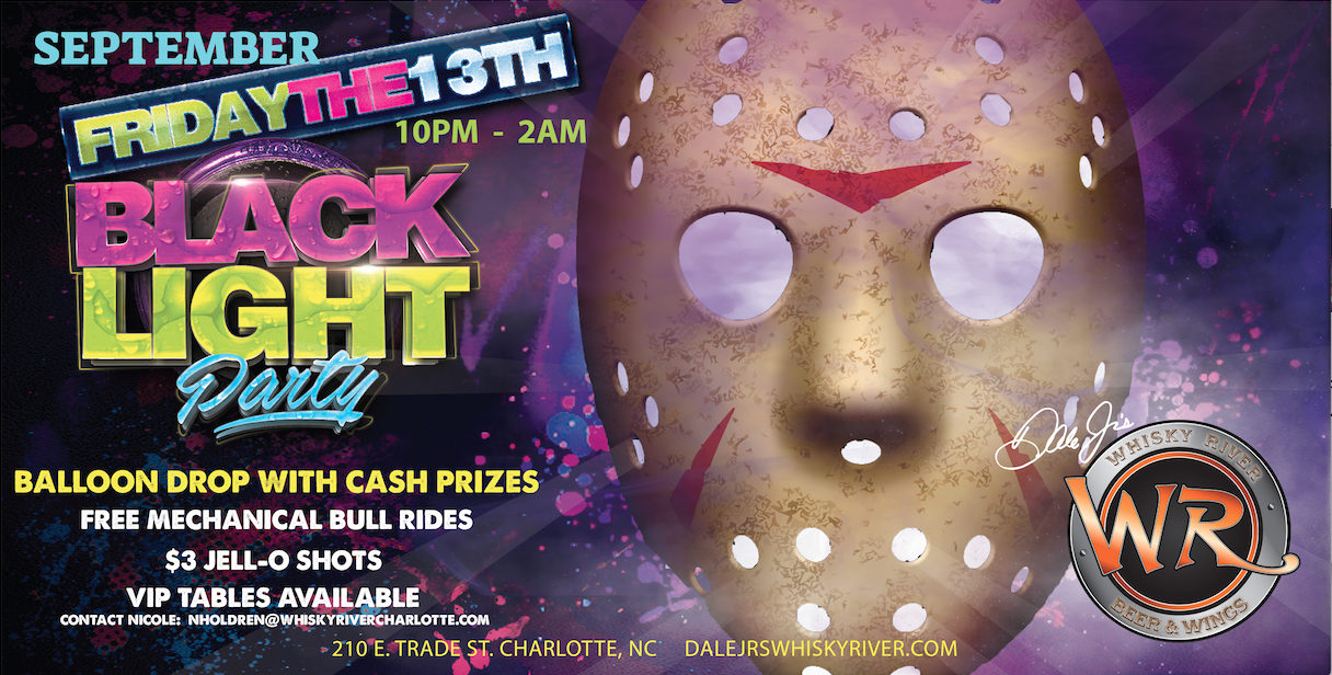 Friday the 13th Black Light Party
