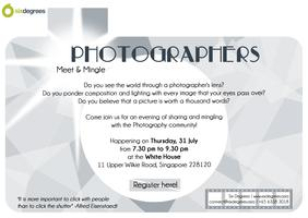Meet & Mingle with Photographers