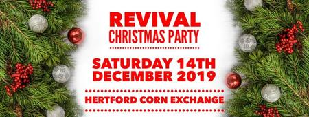 Christmas Party 2019 Logo.Revival Christmas Party 2019