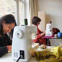 Sewing Group: Weekday evening 6.30-9.30pm (wait list)