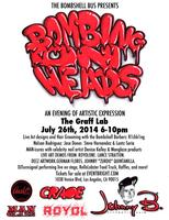 "The Bombshell Bus Presents ""Bombing On Heads"" An..."