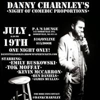 Danny Charnley's Night of Comedic Proportions