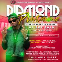 DIAMOND PLATNUMZ #SIMBAA# LIVE IN BERLIN CITY