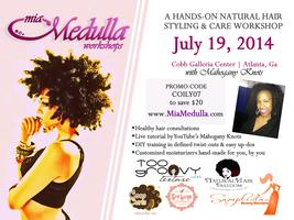 Mia Medulla Natural Hair Workshop