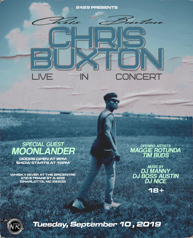 2429 Presents Chris Buxton LIVE w/Special Guest Moonlander