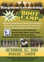 Kingdom Leadership Boot Camp