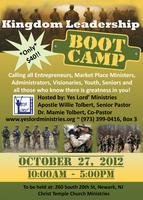 Kingdom Leadership Boot Camp
