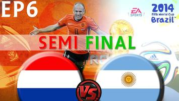 ARGENTINA vs. NETHERLANDS 2014 World Cup Semifinal