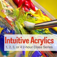 Intuitive Acrylics Painting Classes