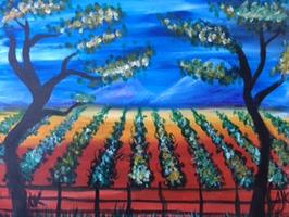 Paint & Sip Event at Larson Family Winery