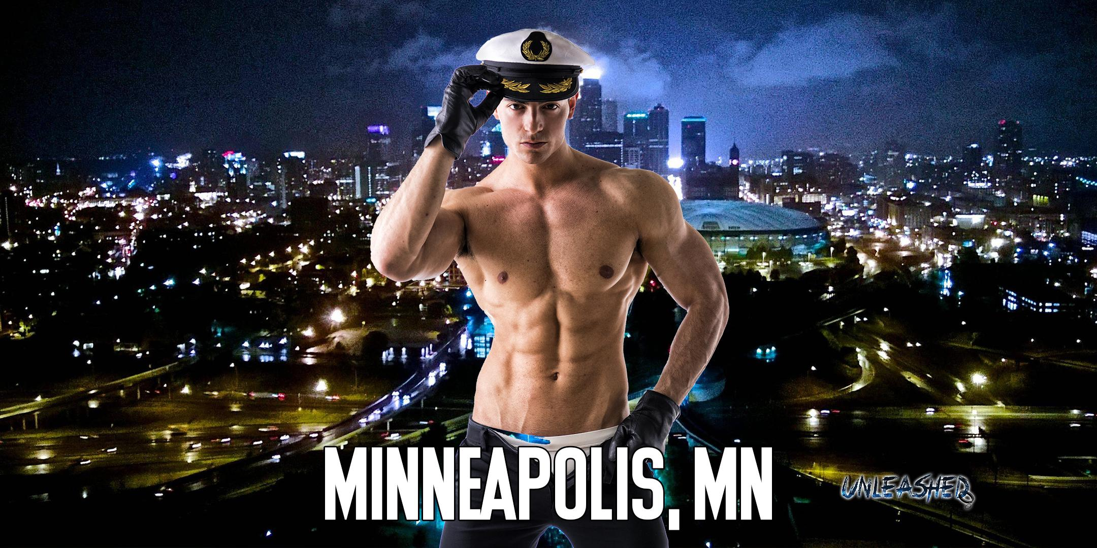 Male Strippers UNLEASHED Male Revue Minneapolis, MN 8-10 PM
