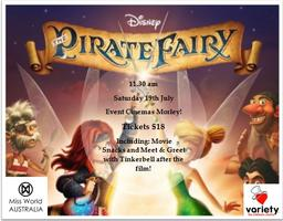 Special Movie Screening of Tinkerbell and the Pirate...