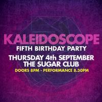 KALEIDOSCOPE NIGHT 5TH BIRTHDAY PARTY