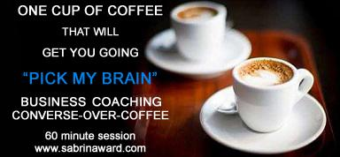 BUSINESS COACHING | CONVERSE-OVER-COFFEE (San Diego)