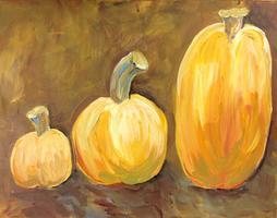 GSoA Paint Party - Three Pumpkins