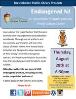 Tenafly Nature Center Presents Endangered NJ