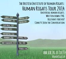 Human Rights Tour 2014: London, 16 Oct
