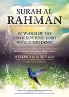 Surah Ar-Rahman - Special Ramadhan Weekend Seminar in...