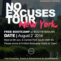 No Excuses Summer Tour New York City