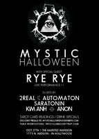 MYSTIC HALLOWEEN ♁ RYE RYE (LIVE) ♁ HOUSE PARTY