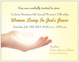 Women Living in God's Grace- Ecclesia Ministries...
