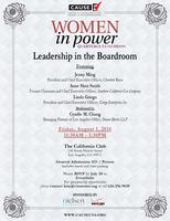 Women in Power: Leadership in the Boardroom | August...