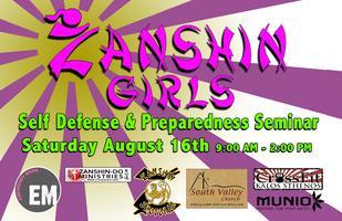 Zanshin Girls Self Defense and Preparedness Seminar