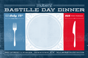 Bastille Day Dinner at Mulberry