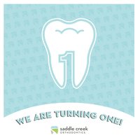 Saddle Creek Orthodontics: 1st Birthday Bash!