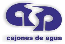 CAJONES DE AGUA - david ruiz logo