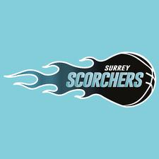 Surrey Scorchers Basketball logo