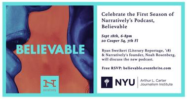 Celebrate the First Season of Narratively's Podcast,...